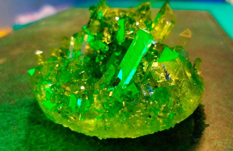 Выращивание кристала