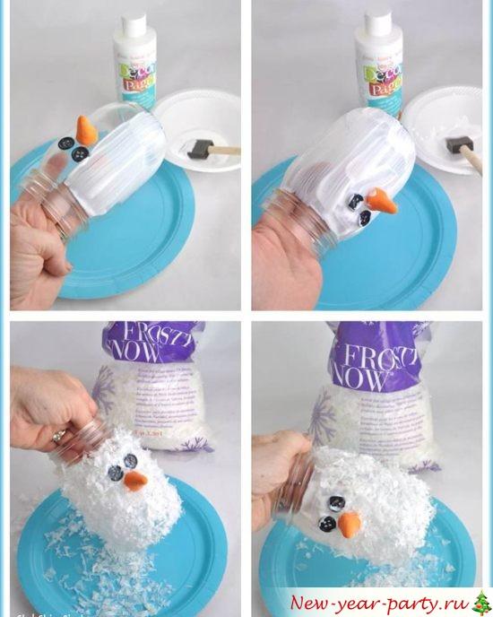 Новогодний подсвечник из соленого теста своими руками
