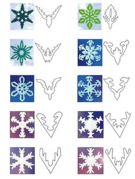 Корона для снежинки своими руками из бумаги