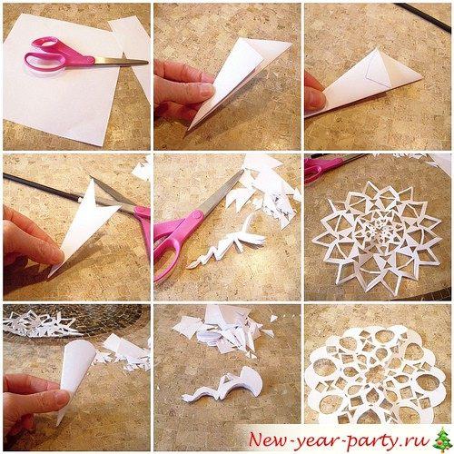 Как складывать лист бумаги