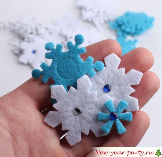 ледяные сине-белые