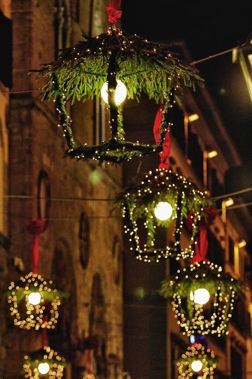 Новогоднее оформление улицы своими руками