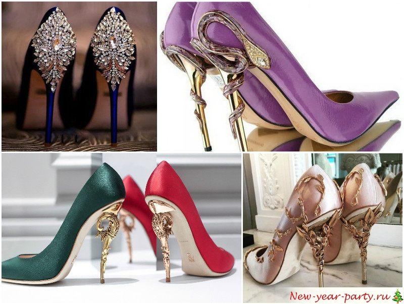 Новогодние туфли
