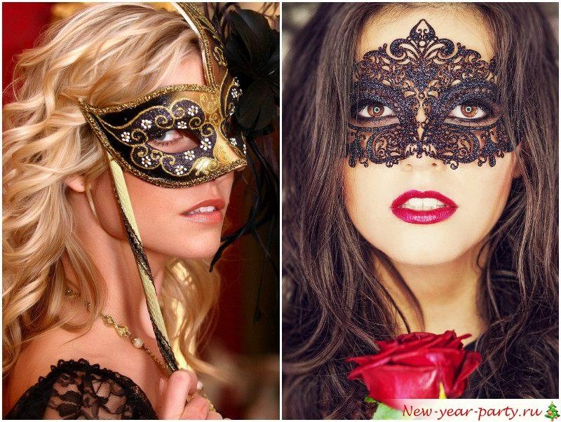 Карнавальная маска для Рака