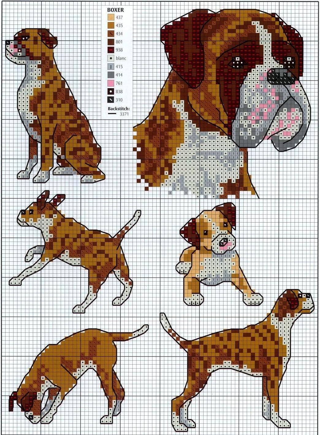 Схема вышивки «Ротвейлер» - Схемы автора «JuliC» - Вышивка 100
