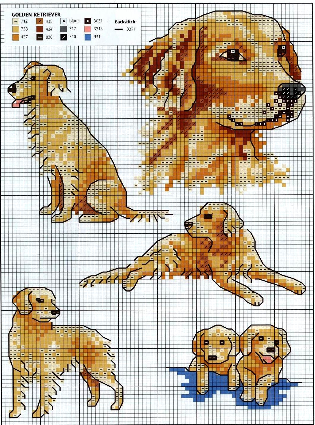 Схема вышивки «Ротвейлер» - Схемы автора «JuliC» - Вышивка 15