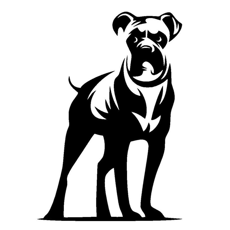 Шаблон вытынанки Собаки