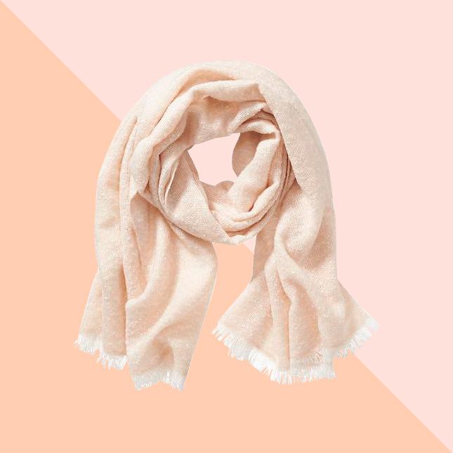 Трикотажный шарф